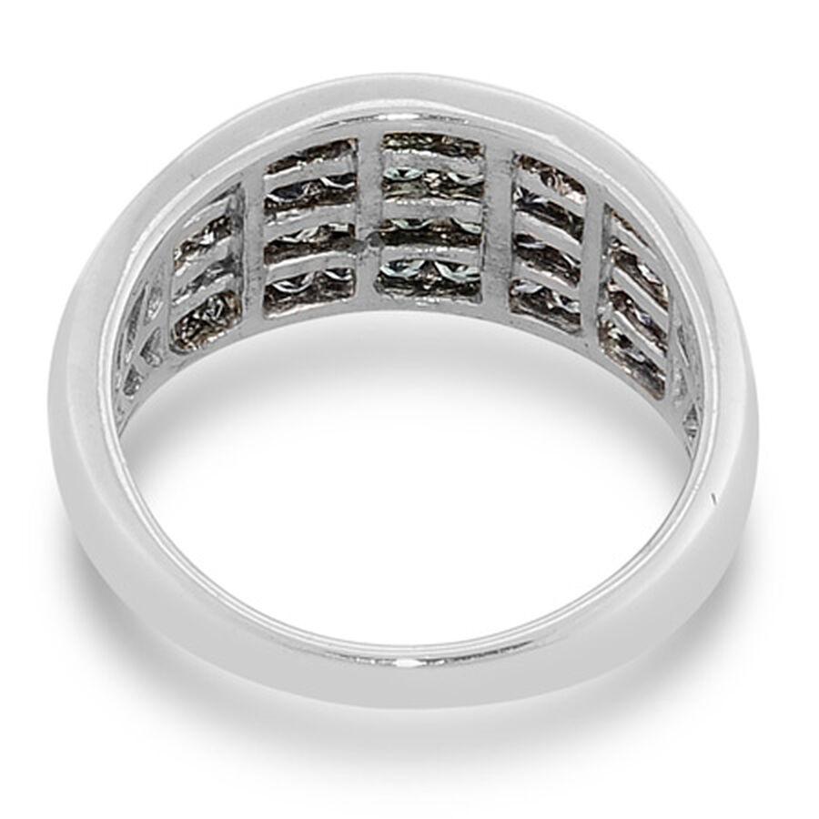 Colour Change Garnet Ring