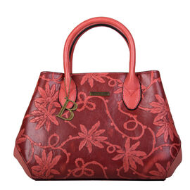 Bulaggi Collection- Rose Handbag (Size 27x23x12 Cm) - Red