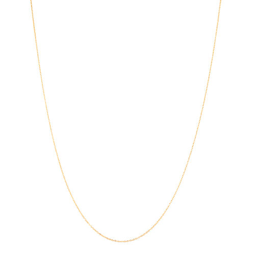 Close Out Deal- 9K Rose Gold Singapore Chain (Size 18)