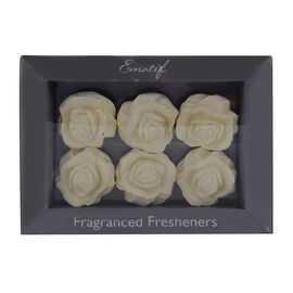 Emotif Fragrant Fresheners (6 Pcs) - Sweet Pea