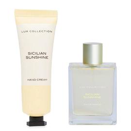 TJC Exclusive - Sicilian Sunshine Eau De Parfum - 100ml (Incl. Purse Spray - 15ml & Hand Cream - 35m