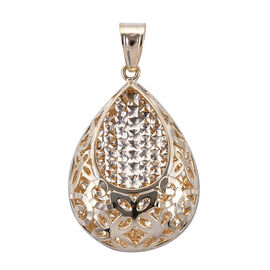 Royal Bali Collection 9K Yellow Gold Pendant. Gold Wt 3.00 Gms