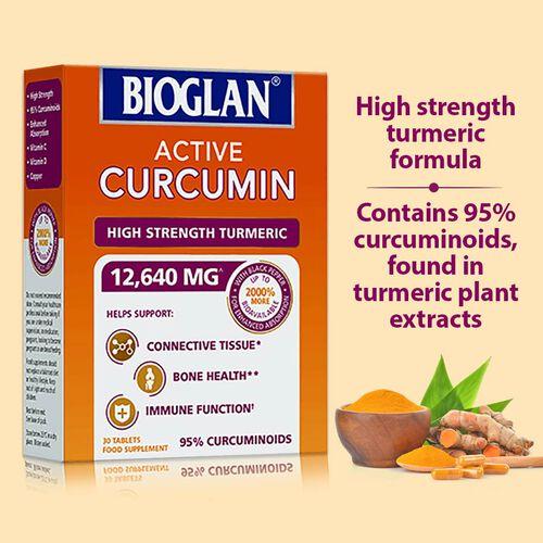 Bioglan: Active Curcumin 30s