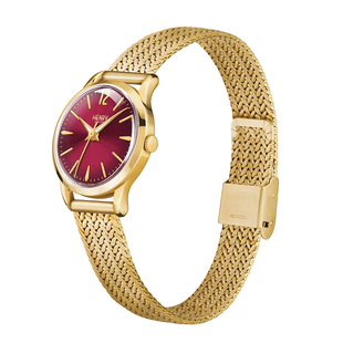 Personalised Engravable Henry London Holborn Ladies Pale Hamilton Gold Stainless Steel Bracelet Watch