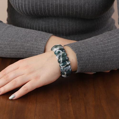 Indian Agate Bracelet (Size 7) 331.50 Ct.