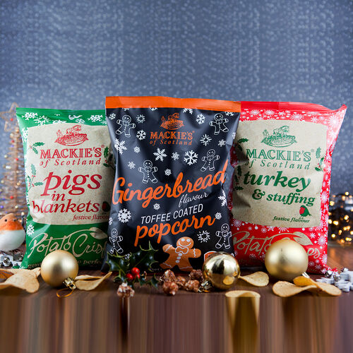 Mackies 8 x 150g Christmas Crisps Bundle