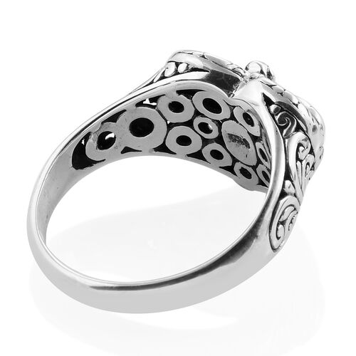 Royal Bali Collection Sterling Silver Dragonfly Ring, Silver wt 5.45 Gms.