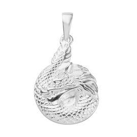 Dragon Pendant in Sterling Silver