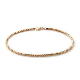Royal Bali Collection 9K Yellow Gold Spiga Bracelet (Size 7)