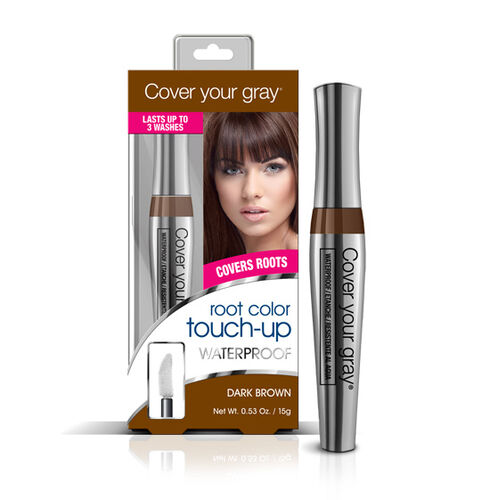 (Option-1) CYG: Waterproof Root Touch-Up - Dark Brown