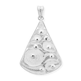 Royal Bali Collection High Polish Pendant in Sterling Silver 3.36 Grams