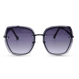 Eyecatcher Black Sunglasses with Graduate Tinted Lens