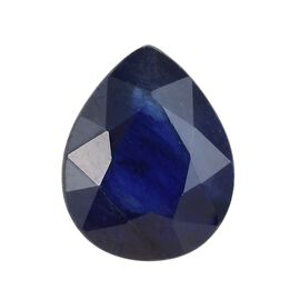 AAA Masoala Sapphire Pear 10x8 Faceted 2.77 Cts