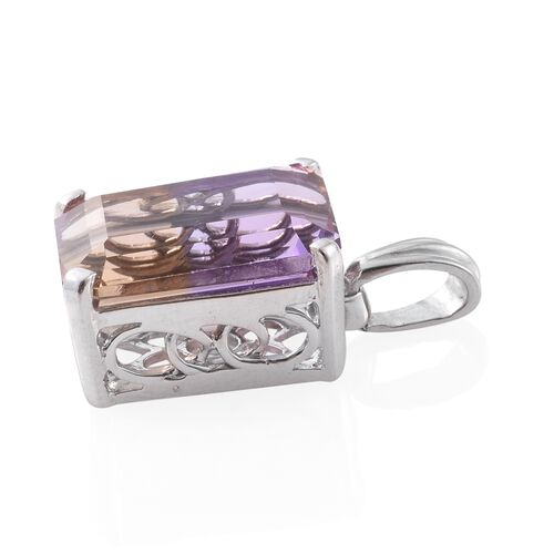 Anahi Ametrine (Oct) Pendant in Platinum Overlay Sterling Silver 10.750 Ct.