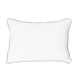 Serenity Night Lavender Infused Memory Foam Pillow (55x35x12cm) with Faux Down Cover(50x70cm)
