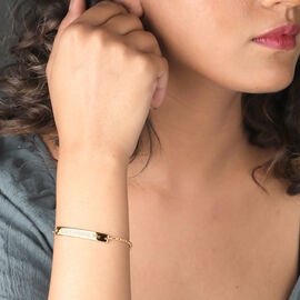 Personalised Bar Bracelet in Silver