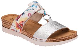 Lotus Genoa Womens Mule Sandals - White