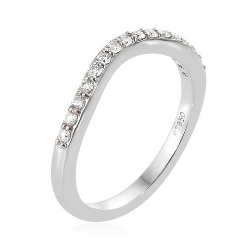 RHAPSODY 950 Platinum IGI Certified Diamond (Rnd) (VS/E-F) Ring 0.200 Ct.