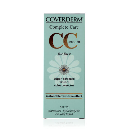 Coverderm: Complete Care CC Face Cream (Soft Brown) - 40ml