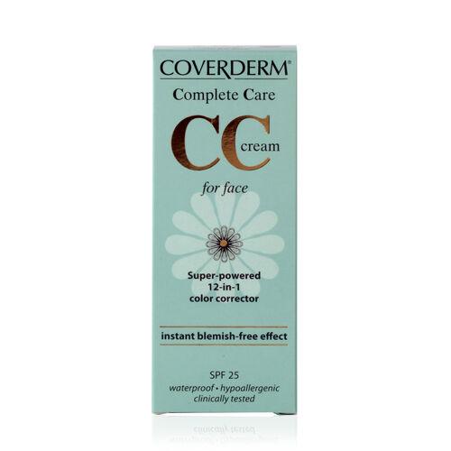 Coverderm: Complete Care CC Face Cream (Soft Brown) - 40ml