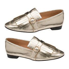 Ravel Gold Estrada Loafers