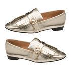 Ravel Gold Estrada Loafers (Size 4)