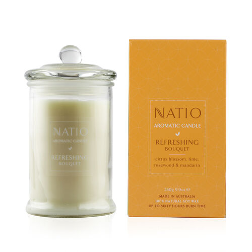 Natio Refreshing  Aromatic Soy Candle 280g