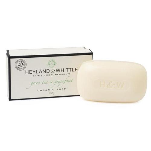 Heyland & Whittle: GreenTea & Grapefruit Body Scrub, Organic Soap, Diffuser & Candle