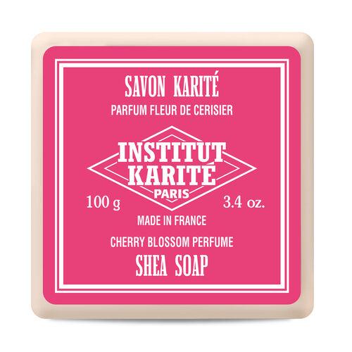 Institut Karite Paris: Cherry Blossom Shea Soap - 100g