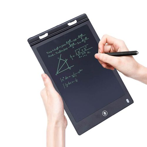 8.5 Inch Lightweight & Scratch Resistant LCD Writing Drawing Tablet Doodle Board for Kids - Black