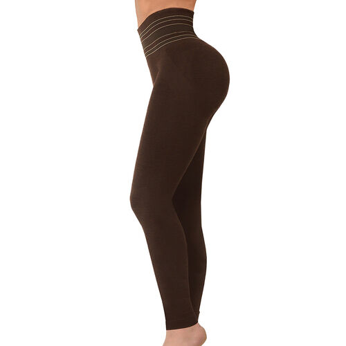SANKOM SWITZERLAND Premium Yoga Full Leggings - Brown (Size S / M)