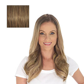 SECRET EXTENSIONS-Virtually Invisible Headband in Dark Golden Blonde Color