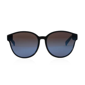 Designer Inspired- Fashion Sunglasses for Unisex- Blue Round