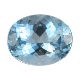 AAAA Santamaria Aquamarine Oval 10x8 Faceted 2.65 Cts