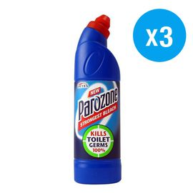 Pack of 3, Parozone: Strongest Bleach - 750ml