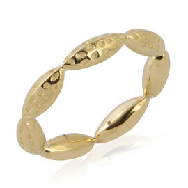 RACHEL GALLEY Band Ring in 9K Yellow Gold 5.18 Grams