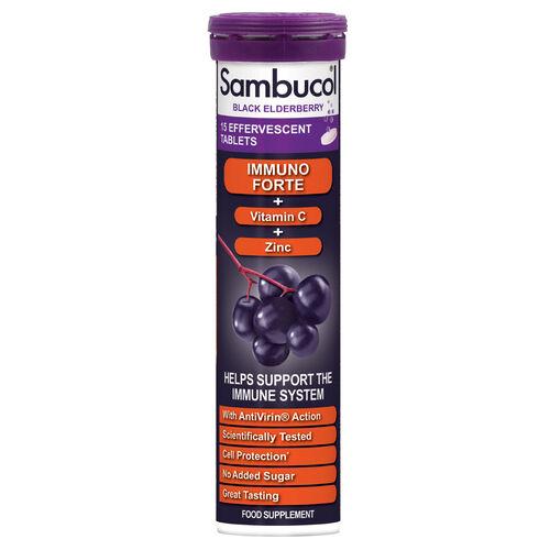 Sambucol Immuno Forte Effervescent- 15 Tablets