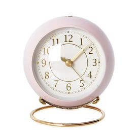 Decorative Alarm Clock Nude Pink - Colour