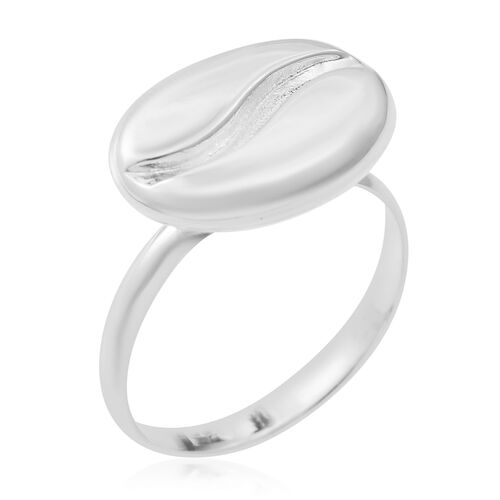 Designer Inspired- High Polished Sterling Silver Ring, Silver wt 4.98 Gms.