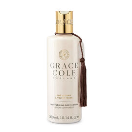 Grace Cole: Oud Accord & Velvet Musk Body Lotion - 300ml
