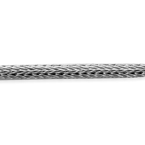 Royal Bali Collection - Sterling Silver Tulang Naga Necklace (Size 22), Silver wt. 26.50 Gms