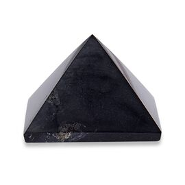Home Decor - Pyramid Shape Elite Shungite (Size 2.5x3 Cm) 140.00 Ct