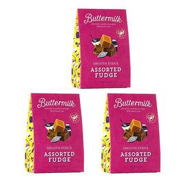 Buttermilk 3 x 150g Assorted Fudge sharing box