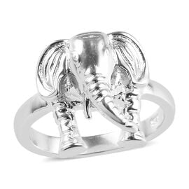 Elephant Ring in Sterling Silver 5.63 Grams