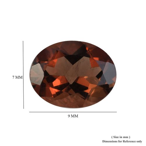 AAA Mocha Scapolite Oval 9x7 Faceted 1.45 Cts