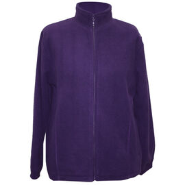 Pure and Natural Plum Colour Ladies Fully Lined Fleece Jackets
