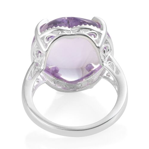 Rose De France Amethyst (Hrt) Ring in Sterling Silver 20.500 Ct.
