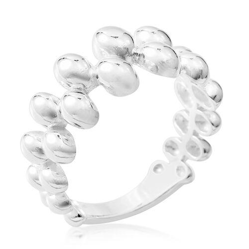 Designer Inspired- Sterling Silver Pebble Design Ring,Silver wt 5.01 Gms.