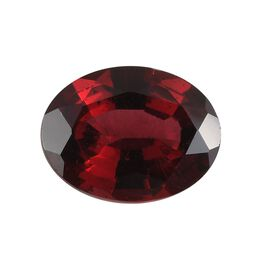 AAA Red spinal Oval 9x7 Faceted 1.96 Cts