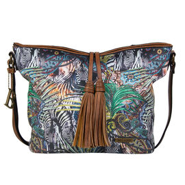 Bulaggi Collection - Jungle Hobo Shoulder Bag (Size 26x25x12 Cm) - Multi